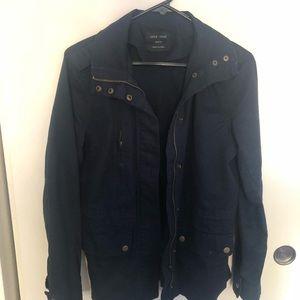 Navy Utility Jacket